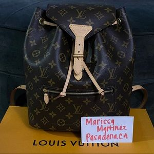 Louis Vuitton Montsouris Backpack